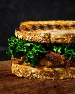 recetas saludables: hamburguesa de lentejas