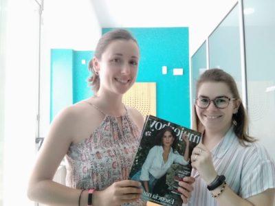 Andrea Arnáiz y Leticia Marín, entrevistadas en MujerHoy